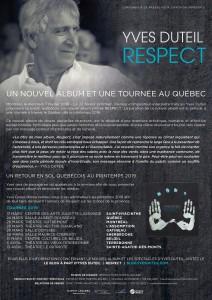 Communiqué Yves Duteil Respect