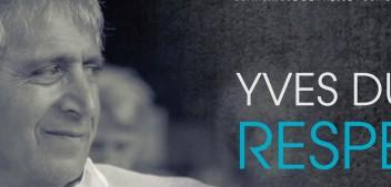 YVES DUTEIL PRÉSENTE UN NOUVEL ALBUM, « RESPECT », LE 23 FÉVRIER.  IL SERA AU QUÉBEC DU 12 AU 16 MARS POUR LE PRÉSENTER AU PUBLIC ET AUX MÉDIAS